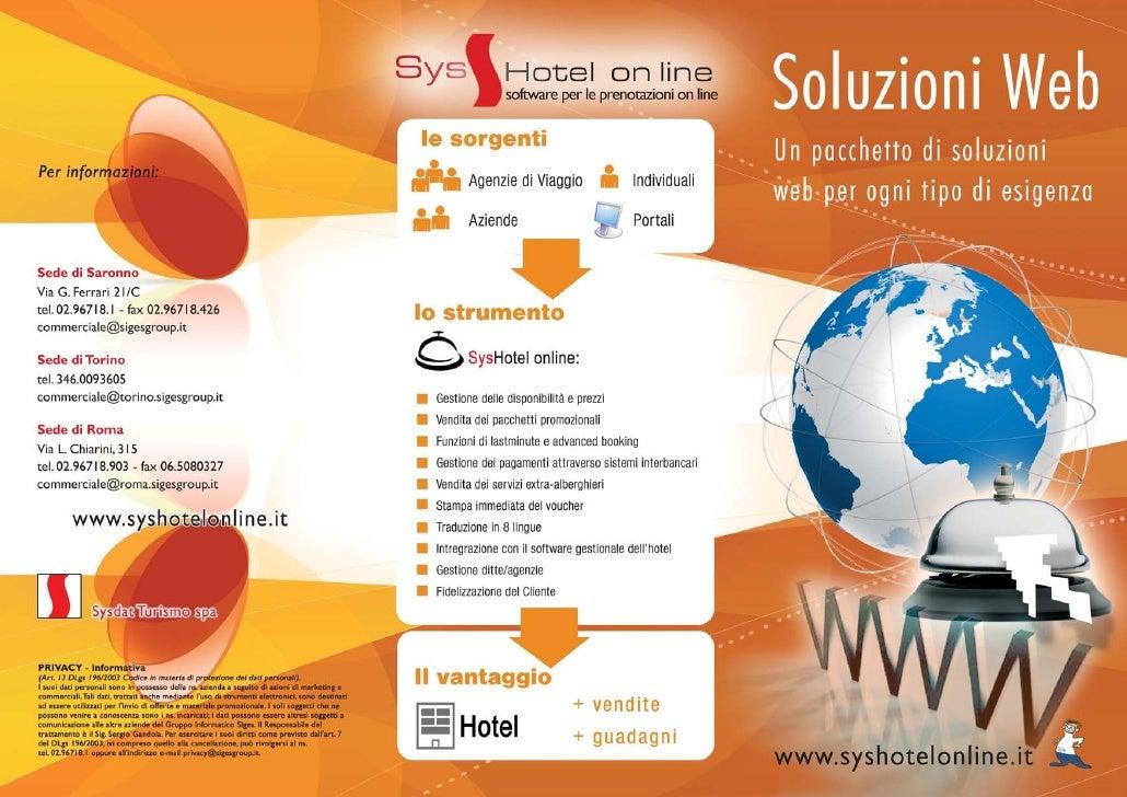 SysHotel On Line Soluzioni Web
