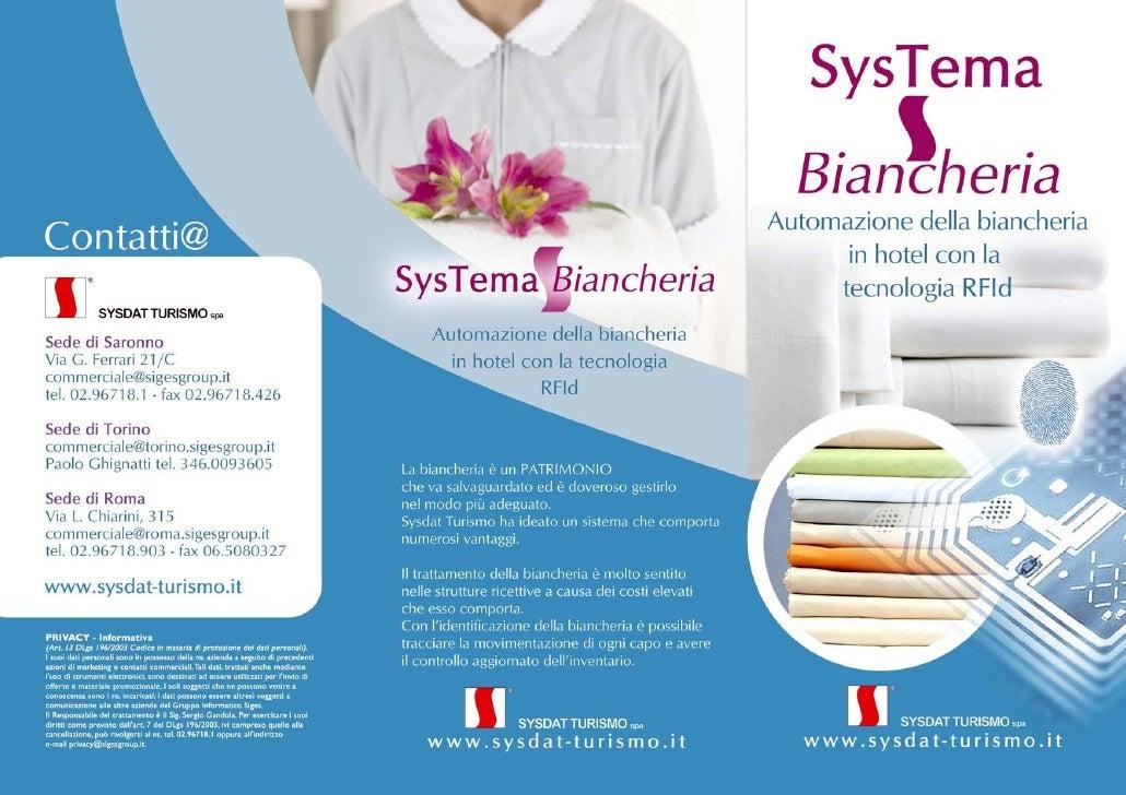 SysTema Biancheria - Automazione della biancheria