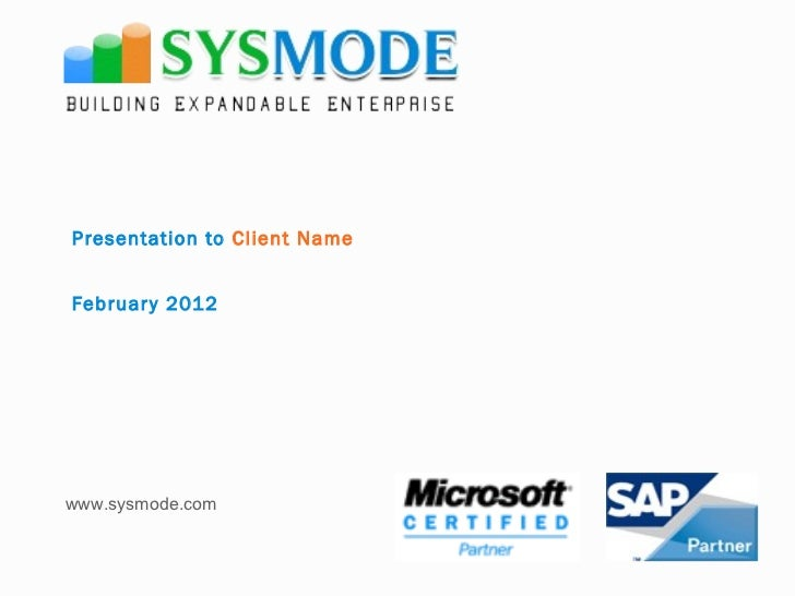 Sysmode company profile