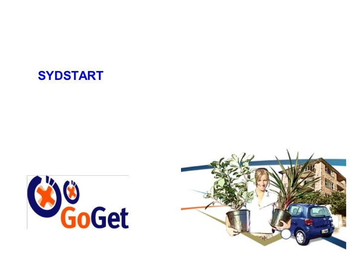 Systart 2011 Autumn -  Go Get Car Share - Nic Lowe - GoGet.com.au