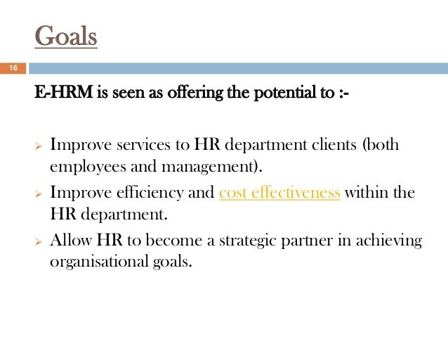 The Evolution of HR