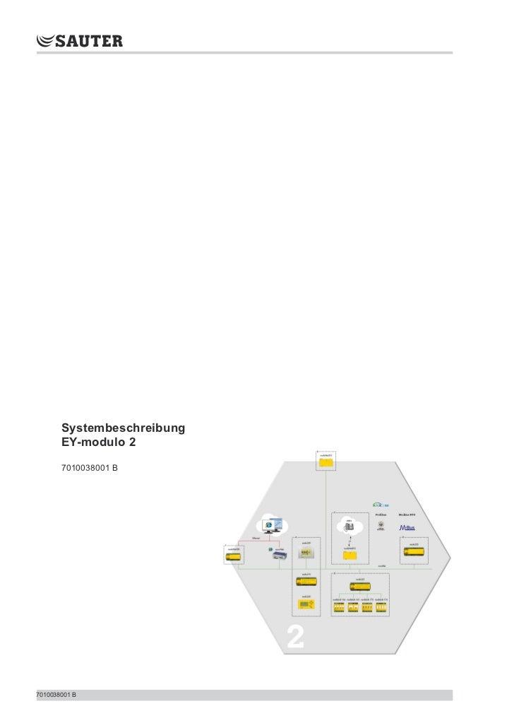 Systembeschreibung       EY-modulo 2       7010038001 B7010038001 B