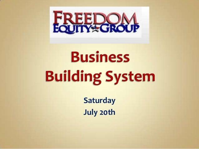 Saturday July 20th