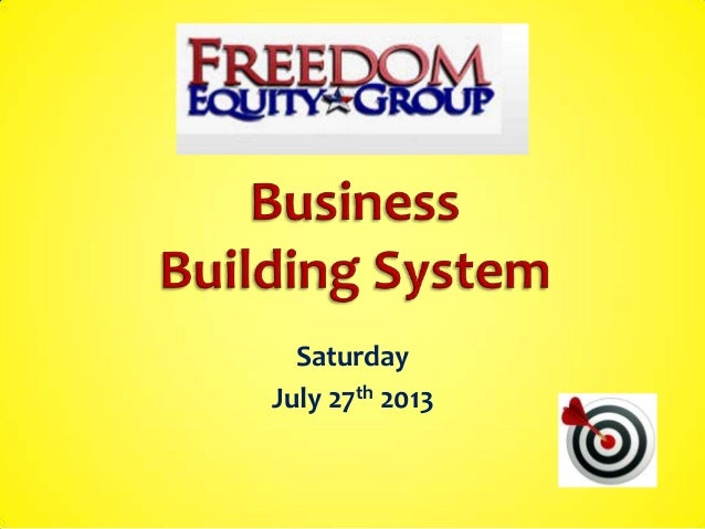 System builder train july 27th 2013