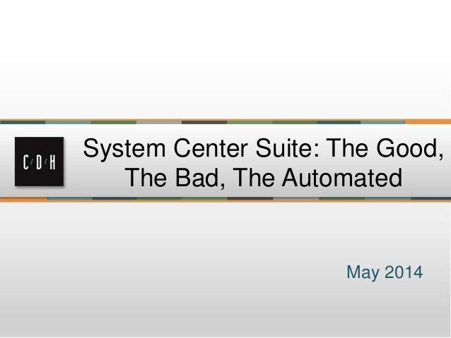 System center seminar presentation