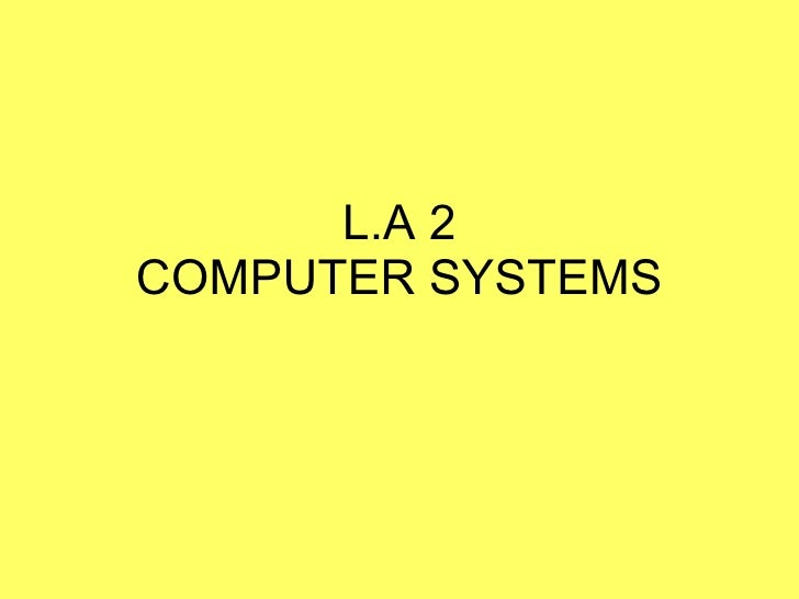 System concept and hardware
