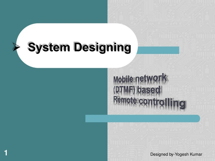 1   Designed by-Yogesh Kumar