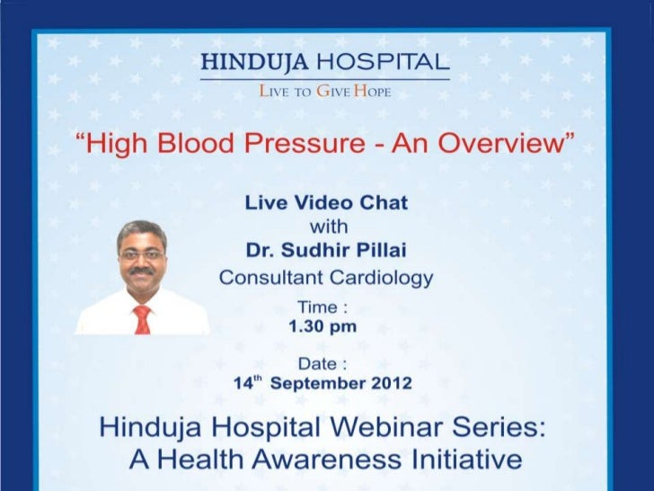 Systemic Hypertension - by Hinduja Hospital