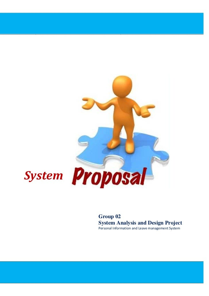System Proposal     System            Group 02          System Analysis and Design Project          Personal Information a...