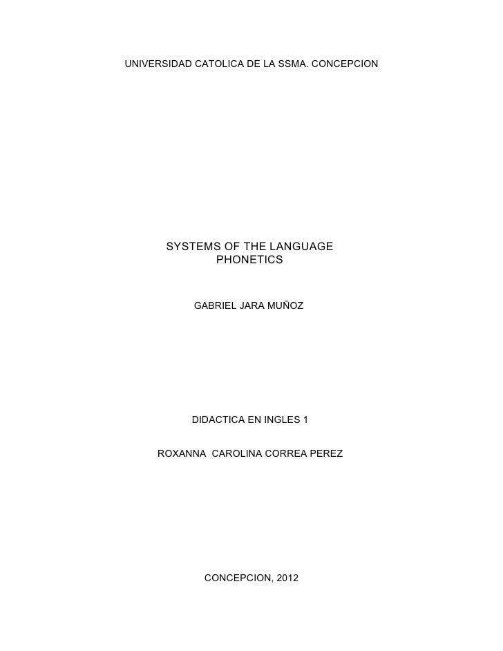 Systems of the language phonetics