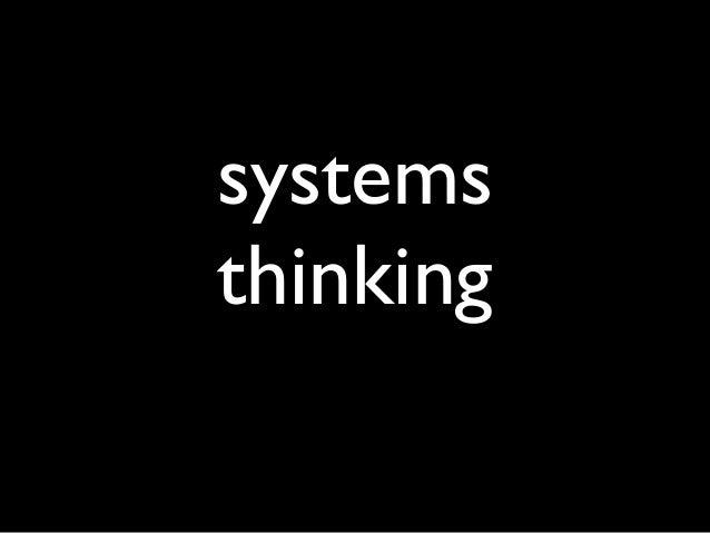systemsthinking