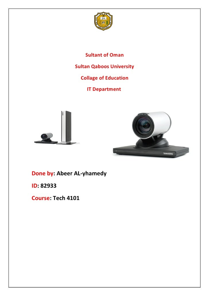 Sultant of Oman               Sultan Qaboos University                    Collage of Education                      IT Dep...
