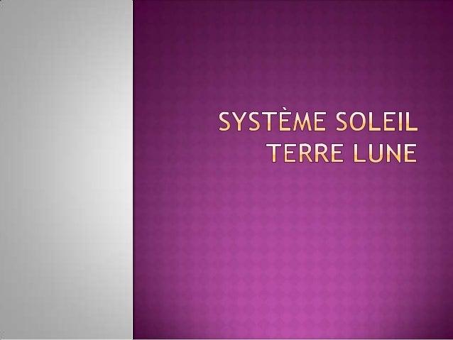 Le système solaire est composéd'astres, dont le soleil, et plusparticulièrement de planètes quigravitent autour de lui. L...