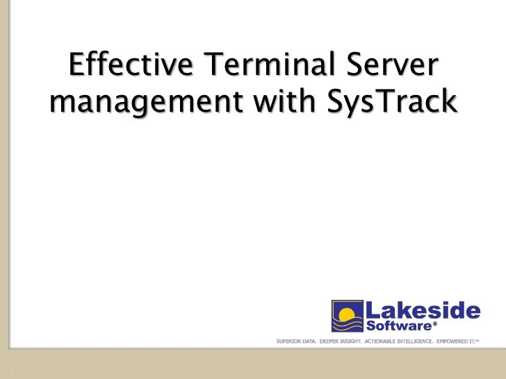 Sys track   customer facing-terminal server-updated