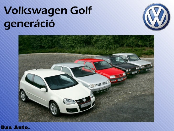 Volkswagen GolfgenerációDas Auto.