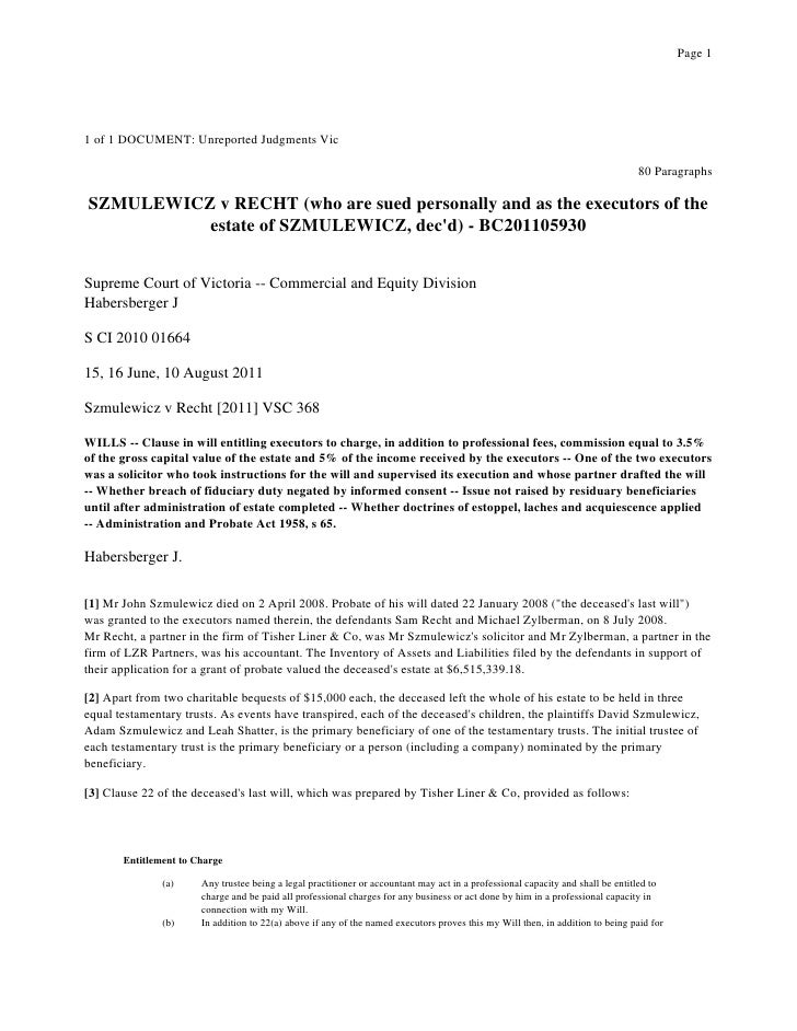Page 11 of 1 DOCUMENT: Unreported Judgments Vic                                                                           ...