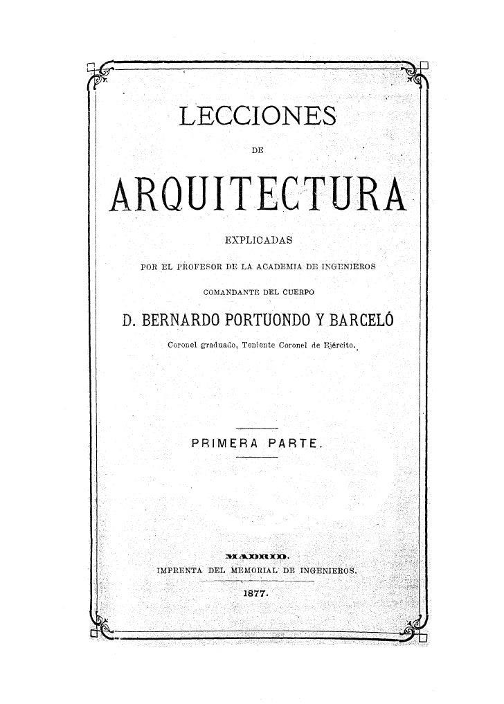 Manual de la Arquitectura