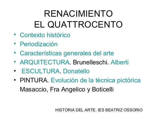 T 8 quattrocento Arquitectura quattrocento caracteristicas