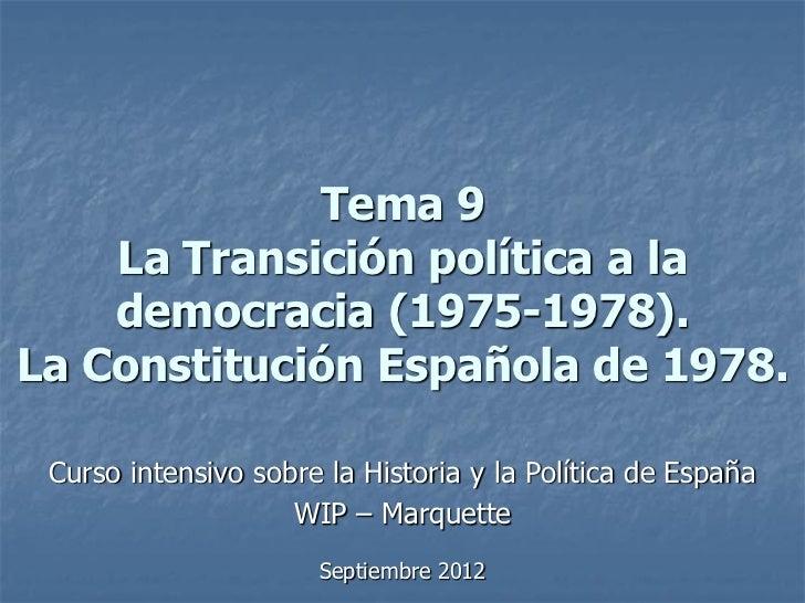 T. 9   wip-marq. 2008 - transición y constitución 1978