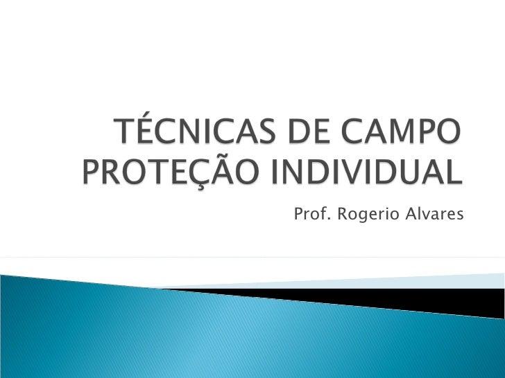 Prof. Rogerio Alvares
