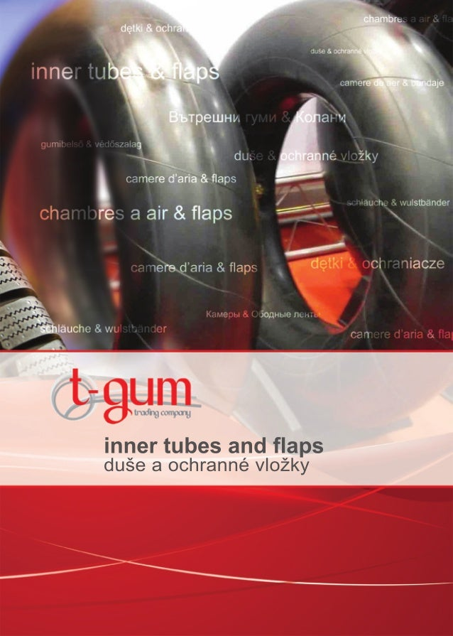 inner tubes and flapsduše a ochranné vložky