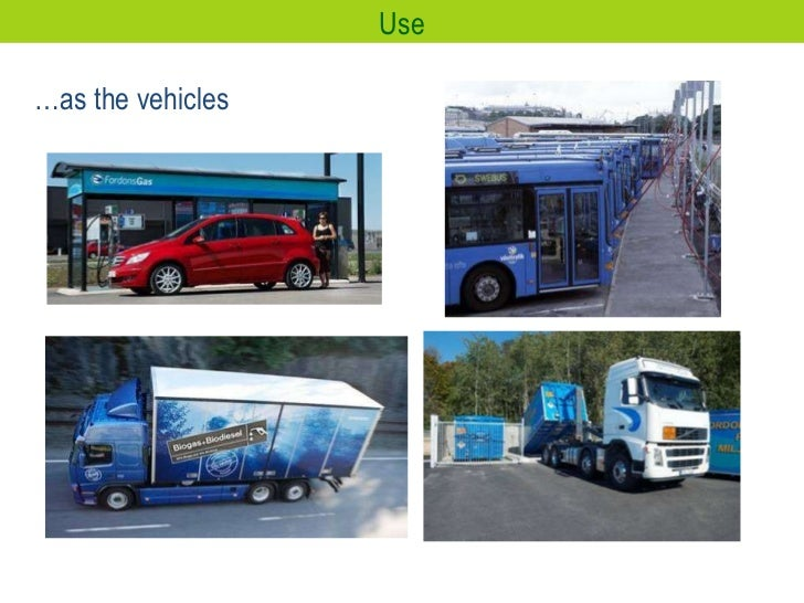 … as the vehicles Use