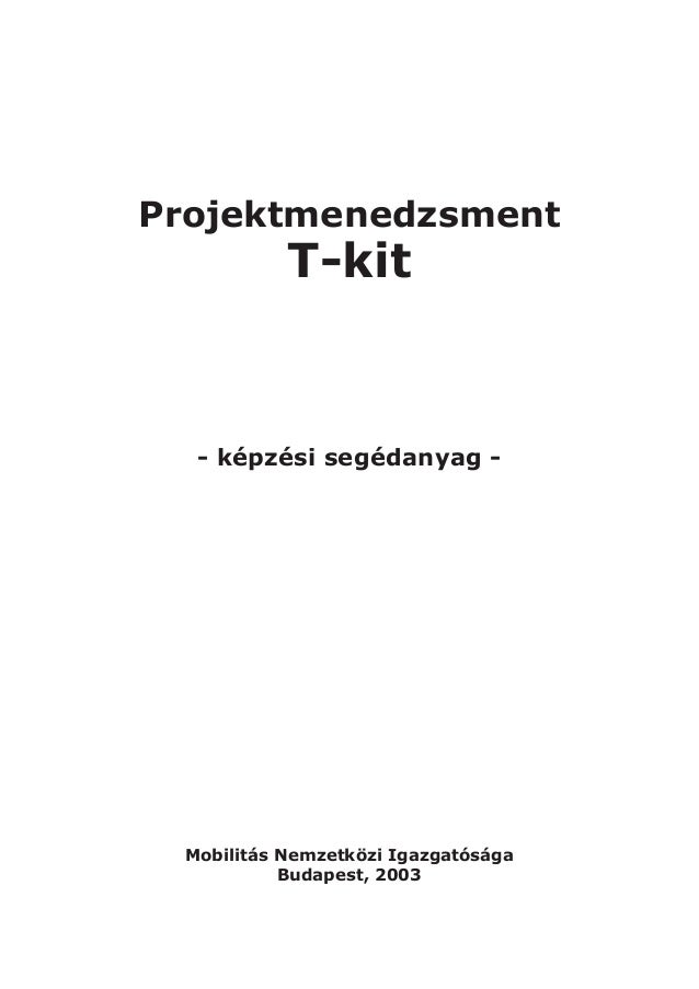 T kit projektmenedzsment