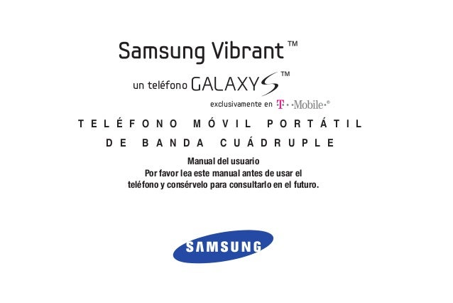 T mobile t959-vibrant_spanish_user_guide