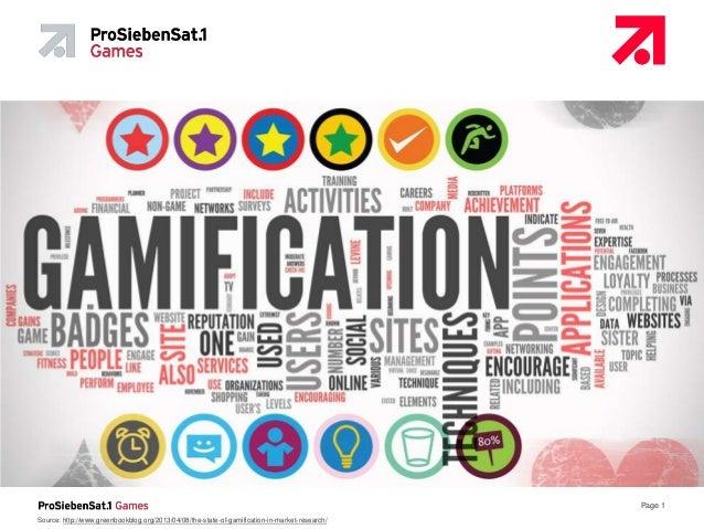 20130711 - Gamification - ProSiebenSat.1 Games - Lothar Eckstein