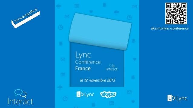 LyncConference2013 - Haute disponibilité, Haute performance et Lync