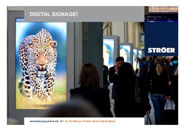 20130711 Digital Signage Ströer Digital Media Kai-Marcus Thäsler