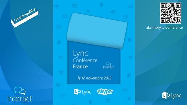 LyncConference2013 - Extension de Lync 2013 côté Serveur