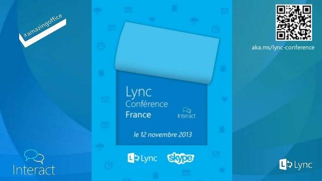 LyncConference2013 - Lync Mobile - Mise en Oeuvre