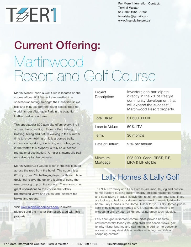 T1  martinwood resort and golf-signed