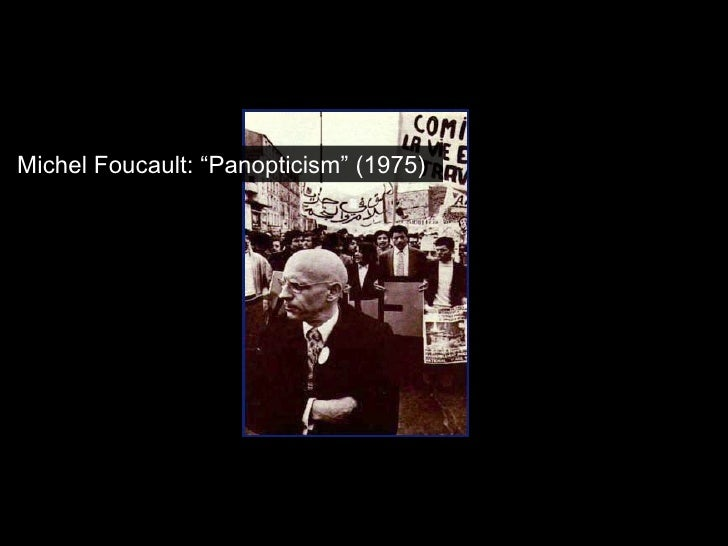 essay on panopticism If you need some help understanding the basic concepts in the essay, check out the general summary on sparknotes foucault's panopticism.