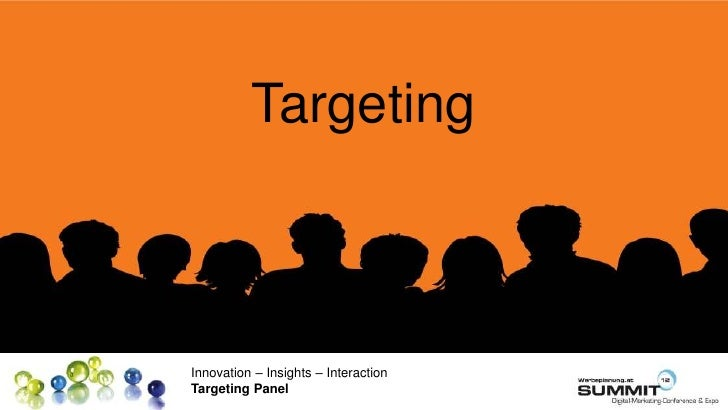TargetingInnovation – Insights – InteractionTargeting Panel