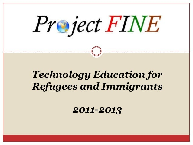 Digital Literacy for New Americans, Fatima Said, Project FINE
