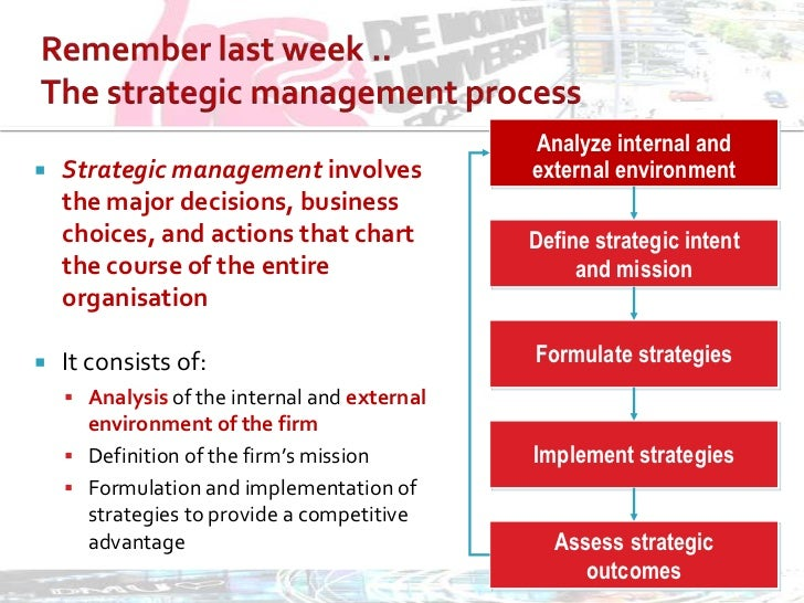 a discussion on the importance of strategic leadership for a company The importance of strategic planning is in the small number and the long term impact of the decisions embodied in the strategic plan.