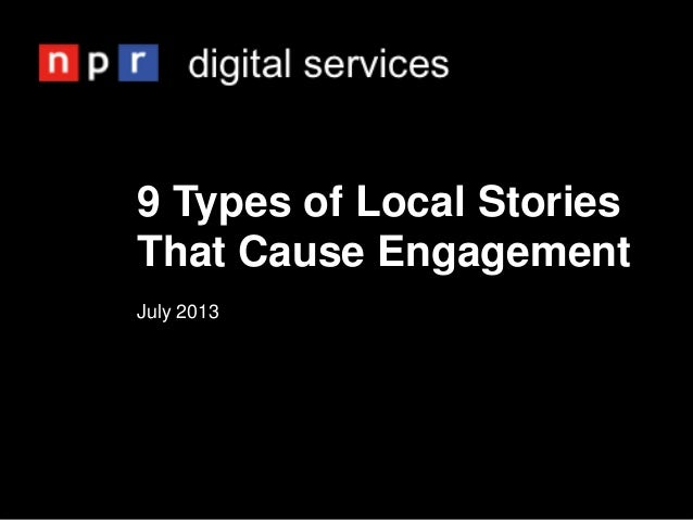 9 Types of Local Stories That Cause Engagement July 2013
