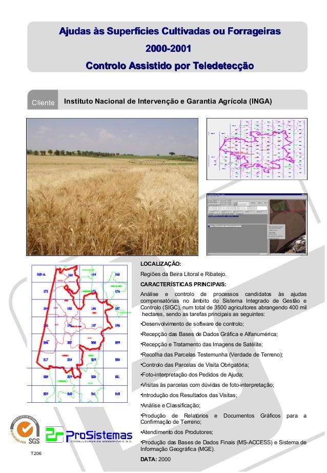 Ajudas às Superfícies Cultivadas ou Forrageiras                                  2000-2001                 Controlo Assist...