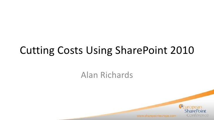 T21 SharePoint Europe Slide Deck