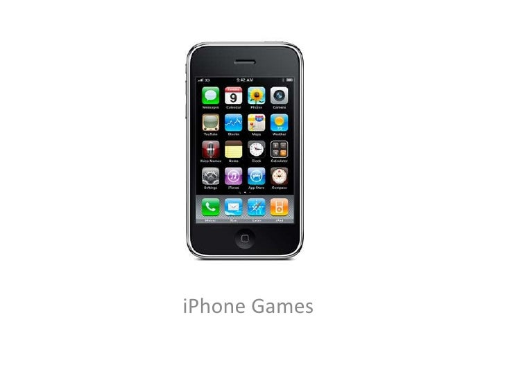 The Business of iPhone Games