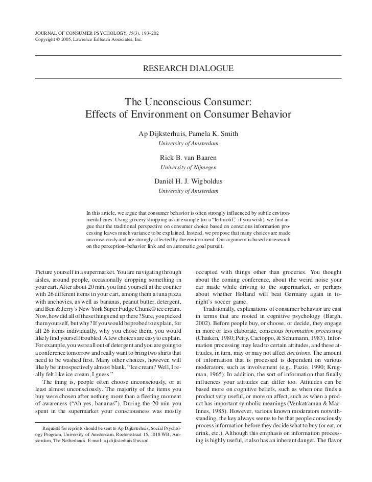 JOURNAL OF CONSUMER PSYCHOLOGY, 15(3), 193–202Copyright © 2005, Lawrence Erlbaum Associates, Inc.                         ...