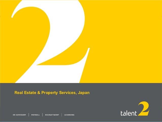 T2 tokyo real estate services  october 2012