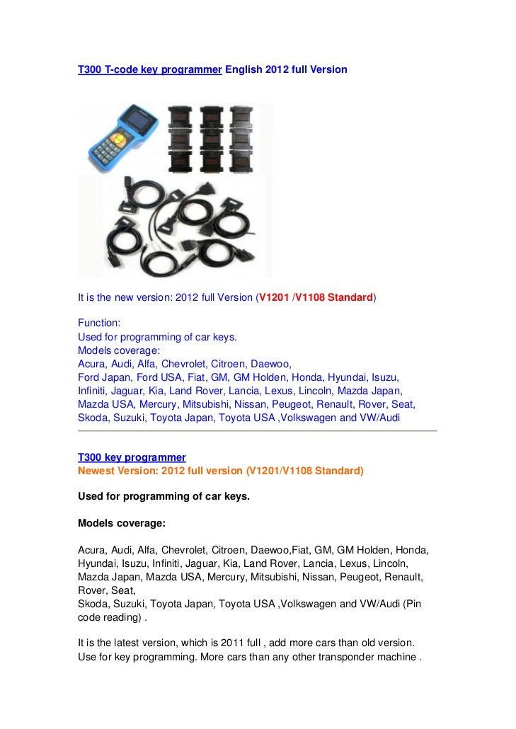 Adkautoscan T300 t code-key_programmer