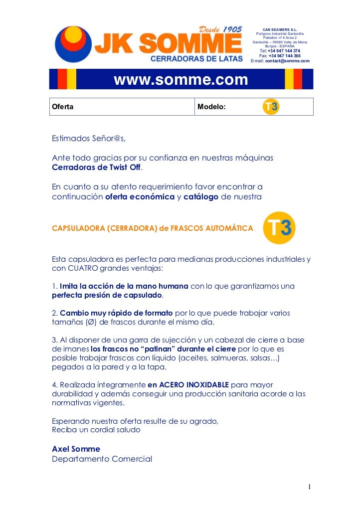 CAN SEAMERS S.L.                                                         Polígono Industrial Santecilla                   ...