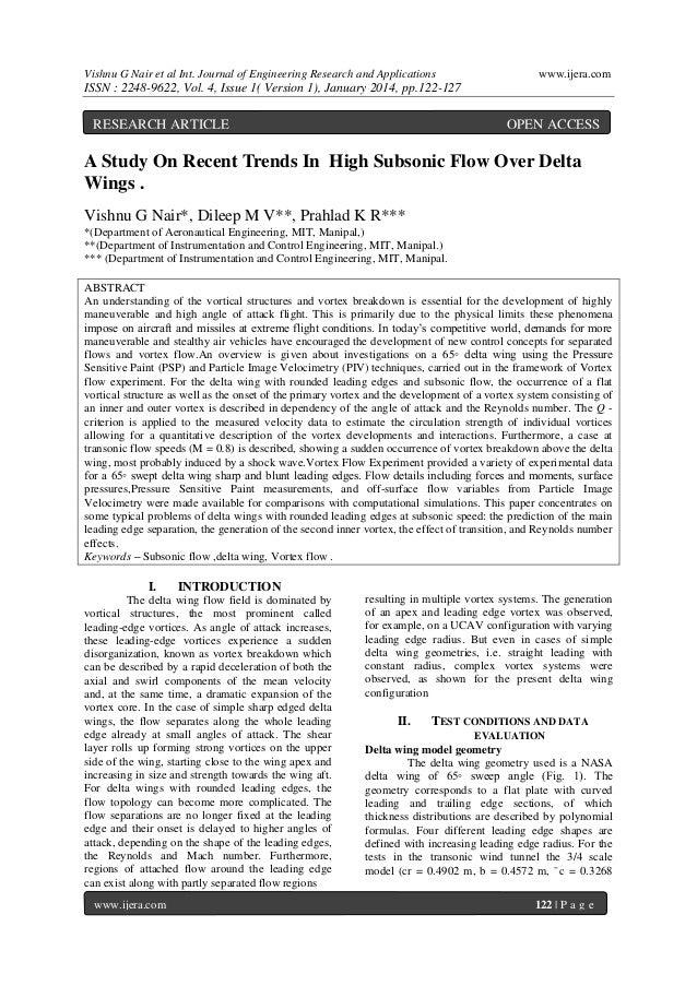 Vishnu G Nair et al Int. Journal of Engineering Research and Applications  www.ijera.com  ISSN : 2248-9622, Vol. 4, Issue ...