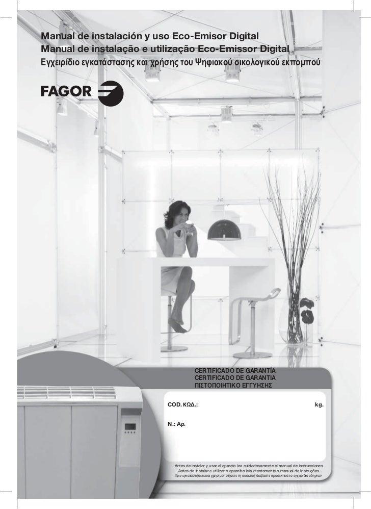 T423 a3505 innovation - Servicio Tecnico Fagor