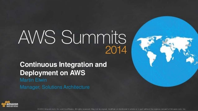 AWS Summit Stockholm 2014 – T4 – Continuous integration on AWS