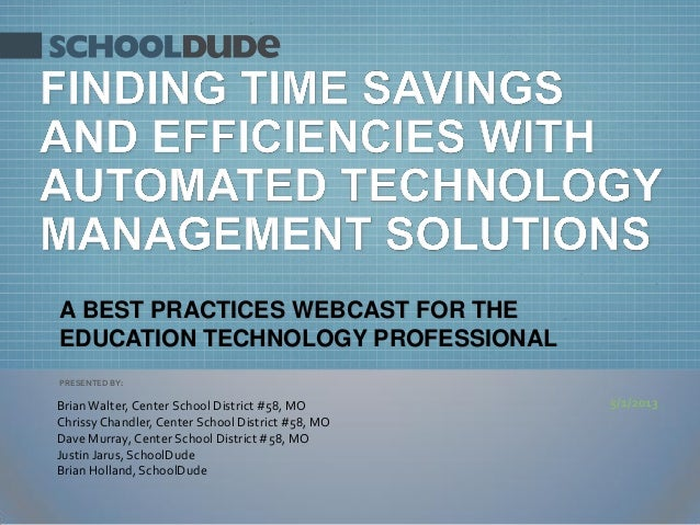 Finding Efficiencies with Automated Technology Management Solutions